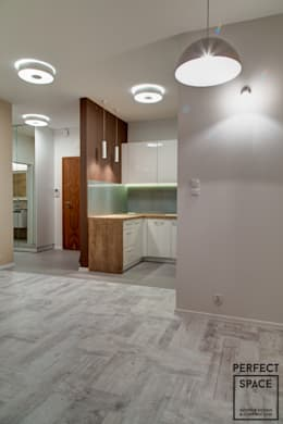 Cocinas de estilo minimalista por Perfect Space