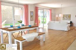 غرفة السفرة تنفيذ Karin Armbrust - Home Staging