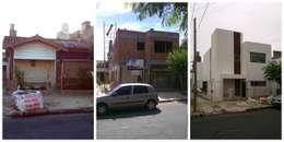 Reforma y ampliación Casa Bergallo: Casas de estilo moderno por DDARQ3D