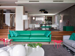 modern Living room by SA&V - SAARANHA&VASCONCELOS