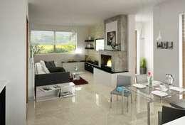 AGA Studio: modern tarz Oturma Odası