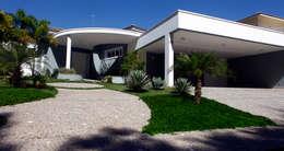 Casas de estilo moderno por Vettori Arquitetura