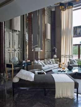 eclectic Living room by SA&V - SAARANHA&VASCONCELOS