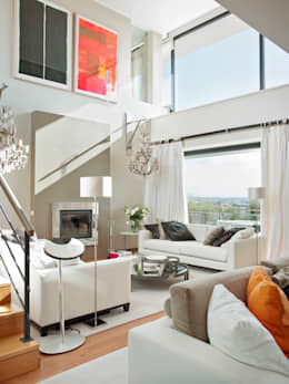 Projekty,  Salon zaprojektowane przez SA&V - SAARANHA&VASCONCELOS