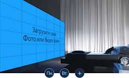 Умный дом видеостена, спальня.: Спальни в . Автор – Первая Мультимедийная компания