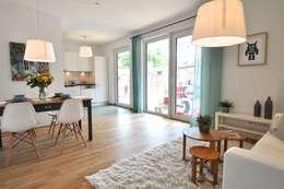 Salas de jantar campestres por Karin Armbrust - Home Staging