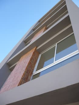 vivienda colectiva- Edificio Sembrando II: Casas de estilo moderno por VHA Arquitectura