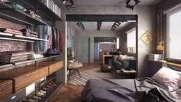 JC 201 | reforma de interiores: Quartos  por .Villa arquitetura e algo mais