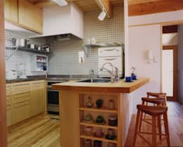 Cocinas de estilo  por AMI ENVIRONMENT DESIGN/アミ環境デザイン