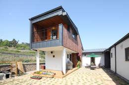 modern Houses by 주택설계전문 디자인그룹 홈스타일토토