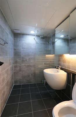 인천 우성아파트 24평 인테리어 : 금화 인테리어 의  화장실