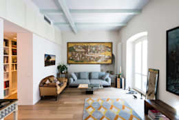 eclectic Living room by cristianavannini | arc