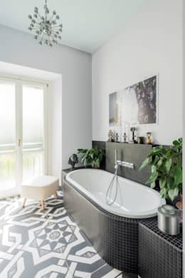 eclectic Bathroom by cristianavannini | arc