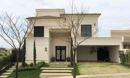 Residencia Lemos - Quinta Golfe: Casas  por FERNANDO ROMA . estudioROMA