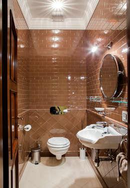 Интерьер санузла: Ванные комнаты в . Автор – Studio 25
