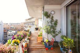 pos sustainable architecture의  베란다