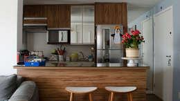 Decoração Vila Andrade.: Cozinhas modernas por MEM Arquitetura