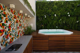 Casas de estilo moderno por Adoro Arquitetura
