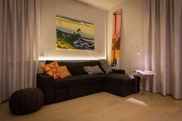 Salas / recibidores de estilo moderno por davide pavanello _ spazi forme segni visioni
