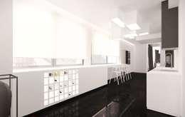 Cuisine de style de style Minimaliste par KONZEPT Architekci