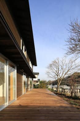 早田雄次郎建築設計事務所/Yujiro Hayata Architect & Associates의  정원