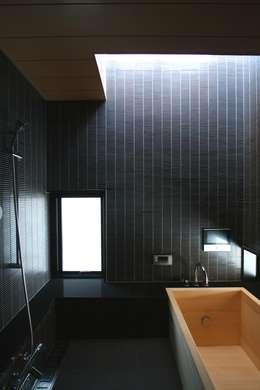 中川龍吾建築設計事務所의  화장실