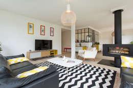 PROJET CBB: Salon de style de style Moderne par 19 DEGRES