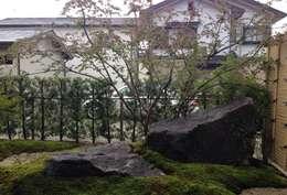 aziatische Tuin door 庭園空間ラボ teienkuukan Labo