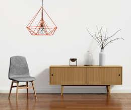 skandynawska prostota: styl , w kategorii Salon zaprojektowany przez onemarket.pl