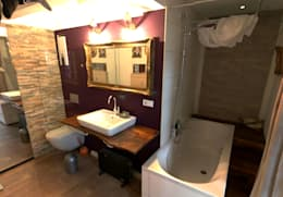Projekty,  Łazienka zaprojektowane przez FM Design
