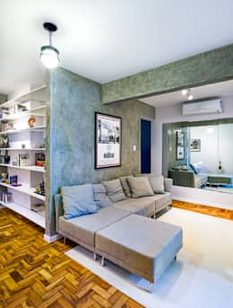industrial Living room by Studio ML