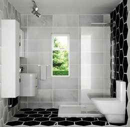 浴室 by Lena Lobiv Interior Design