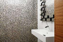 modern Bathroom by Baufritz (UK) Ltd.