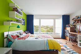 Baufritz (UK) Ltd.: modern tarz Yatak Odası