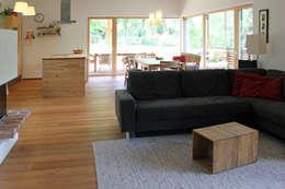 Projekty,  Salon zaprojektowane przez Architekt Stefan Toifl