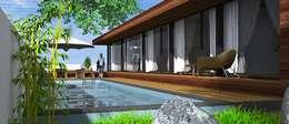 Lethes House: modern tarz Evler