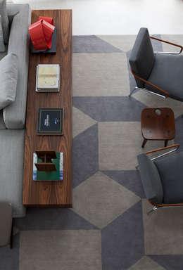 Salon de style de style Moderne par Antônio Ferreira Junior e Mário Celso Bernardes