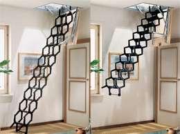 Vestíbulos, pasillos y escaleras de estilo  por Rintal