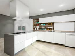 Projekty,  Kuchnia zaprojektowane przez Teia Archdecor