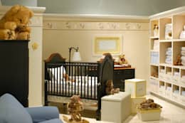 Casa Palacio: Recámaras infantiles de estilo moderno por DIN Interiorismo