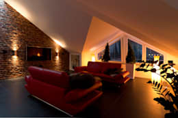 غرفة المعيشة تنفيذ casaio | smart buildings