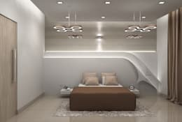 modern Bedroom by De Panache  - Interior Architects