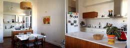 TEODORO GARCIA: Casas de estilo moderno por taller125