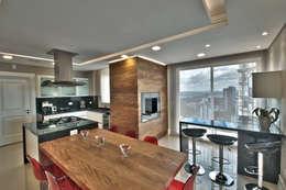 مطبخ تنفيذ Pauline Kubiak Arquitetura