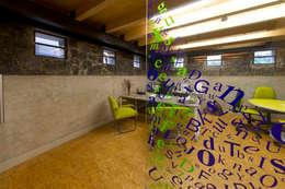 Estudios y oficinas de estilo moderno por DIN Interiorismo