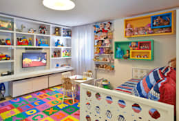 modern Nursery/kid's room by Juliana Goulart Arquitetura e Design de Interiores