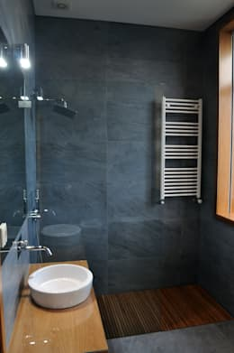 INSIDE arquitectura+design: modern tarz Banyo