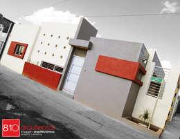 Casa Habitación. González Isordia: Casas de estilo moderno por 810 Arquitectos