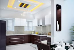 Kitchen Designs: modern Kitchen by I Nova Infra