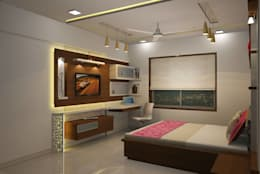 Bedroom designs: modern Bedroom by Optimystic Designs
